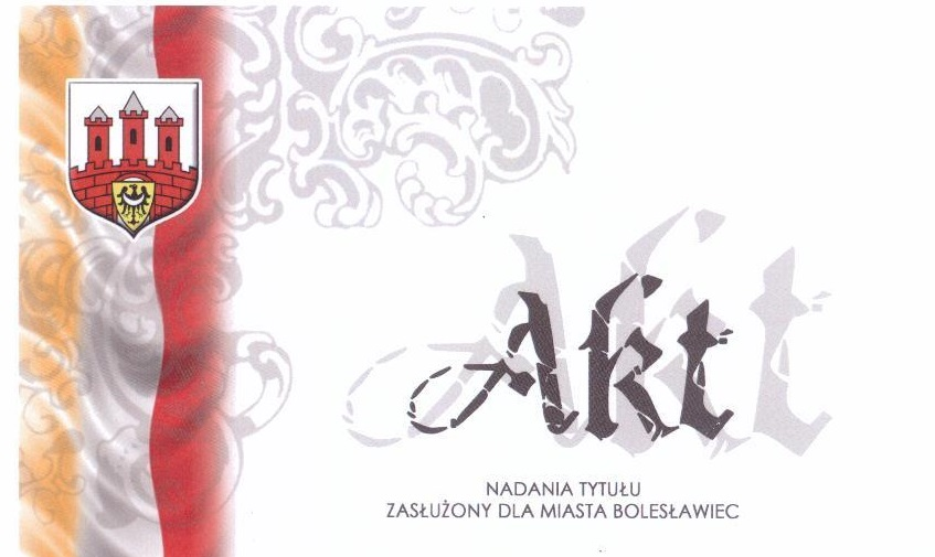 Zasłużony dla Miasta Bolesławiec