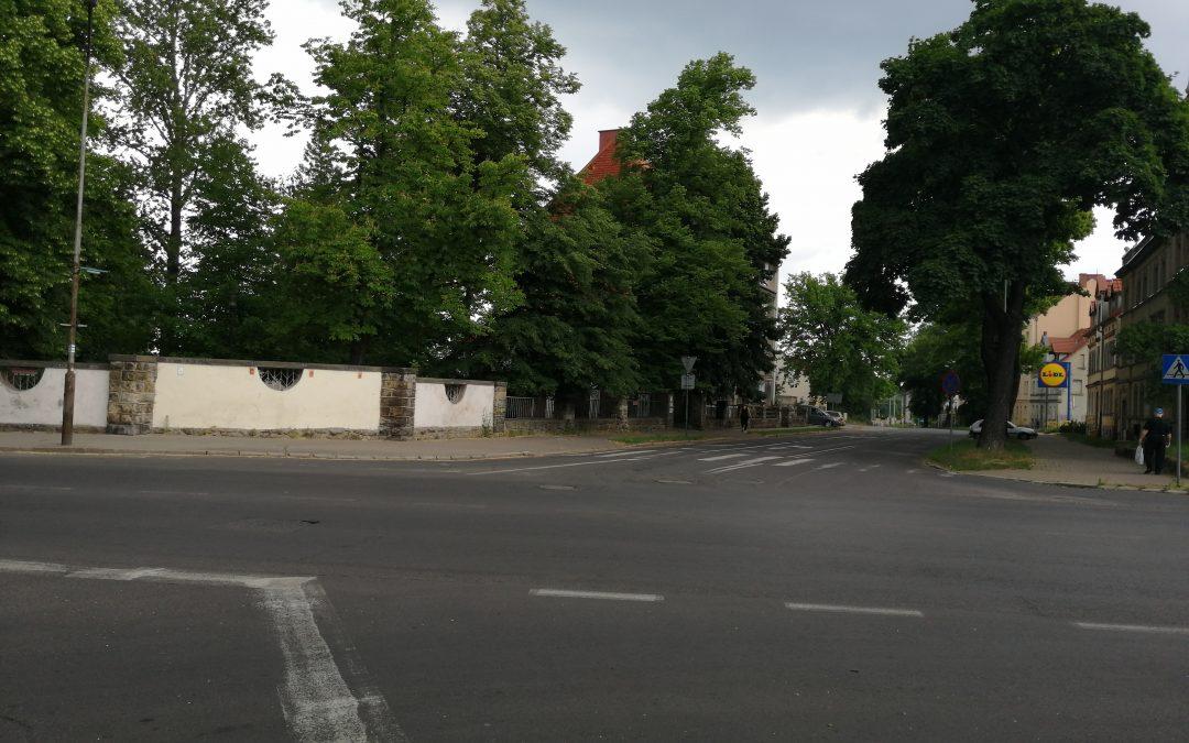Rondo na skrzyżowaniu ulic B. Chrobrego z Polną